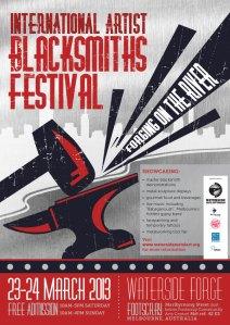 Blacksmith Festival 2013 Poster