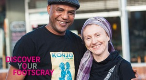 Abdul and Rozenn appeared in last year's Your Footscray campaign
